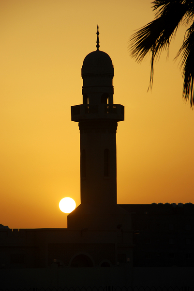 Minaret at Sunset 2