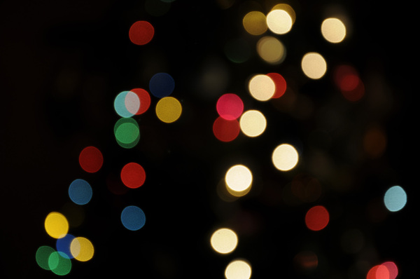 Christmas Lights Blur I