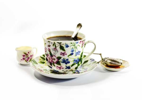 Tea Time: A cup of tea