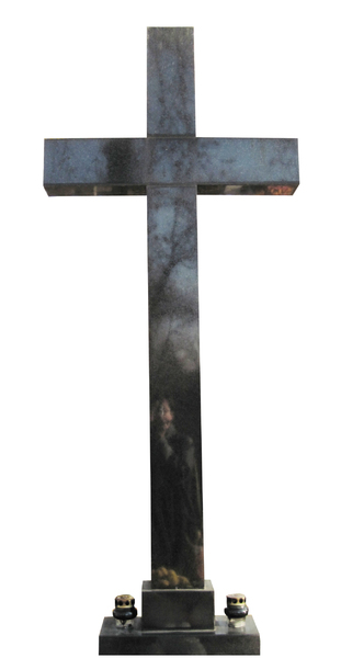 Stone cross: A cross made of stone.