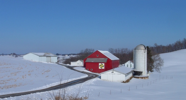 Wintertime on the Farm