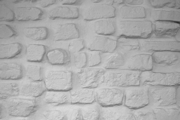 Texture - Old wall bricks: Texture - Wall with plastered bricks from 1770's.