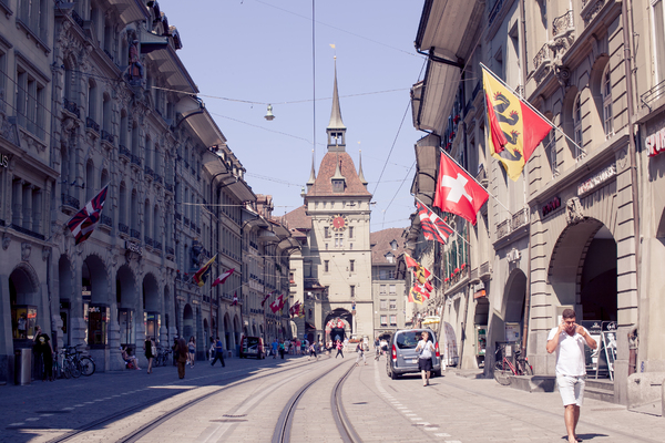 Bern cityscape 1: Photo of Bern cityscape in Switzerland