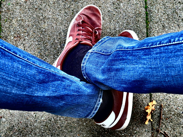 Jeans and sneakers: Jeans and sneakers