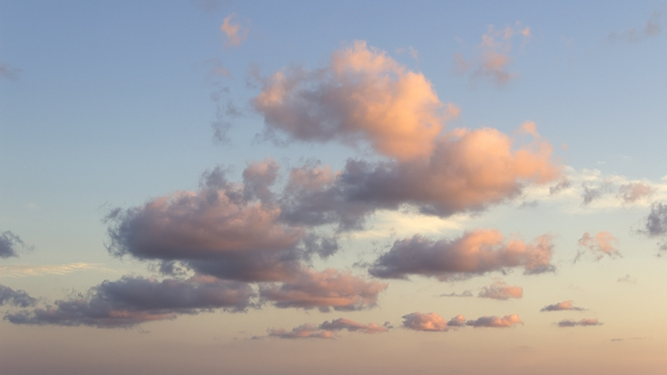 Cloud at dusk
