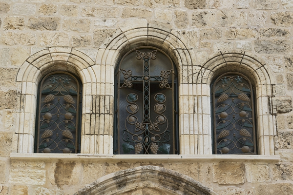 Old windows, Jerusalem