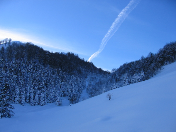 Wonderful snow 1: Fantastic snow in Venetian pre alps (Italy)