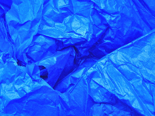creased blue wrapping tissue3