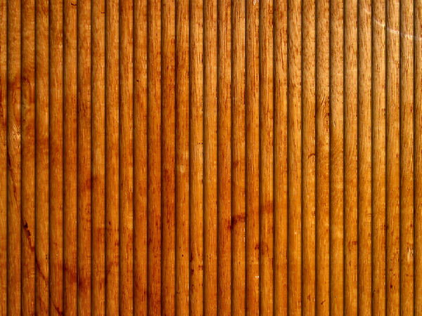 curved wood panelling1: lightly varnished wood panelling