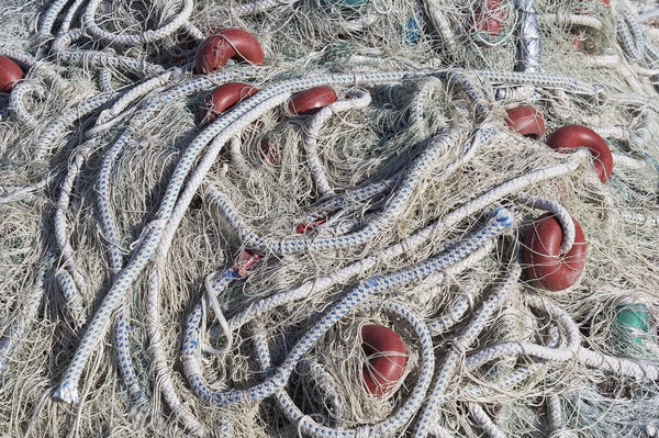 Fishing nets texture