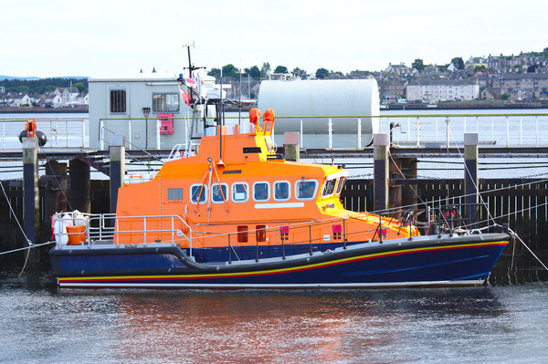 Lifeboat in dock