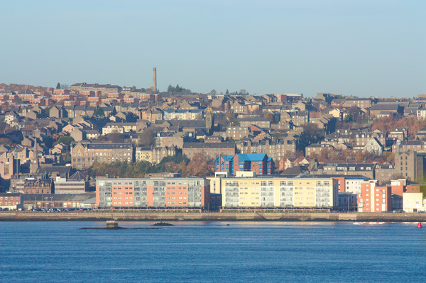 Dundee City over the Tay