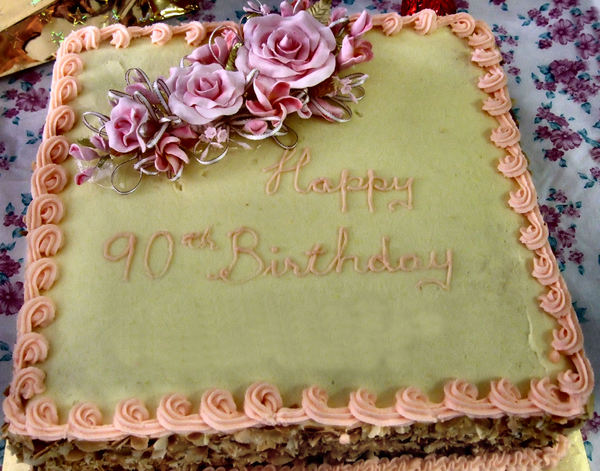 90th birthday cake1b