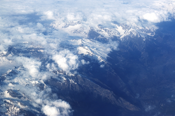 Alps from the air
