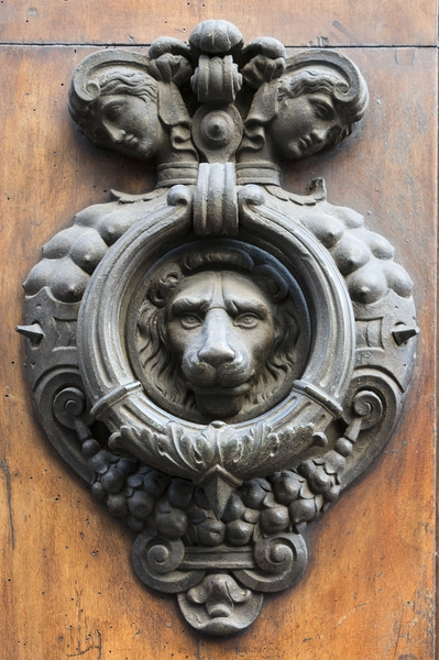 Old doorknocker