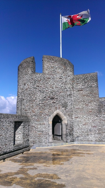 Caerphilly Castle Tower