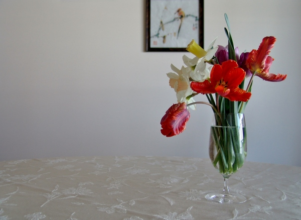 Spring Table Flowers