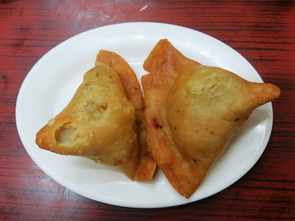 Indian food samosa