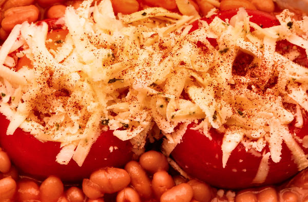 baked beans and tomato meal2