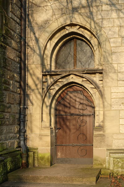 gothic church door 2