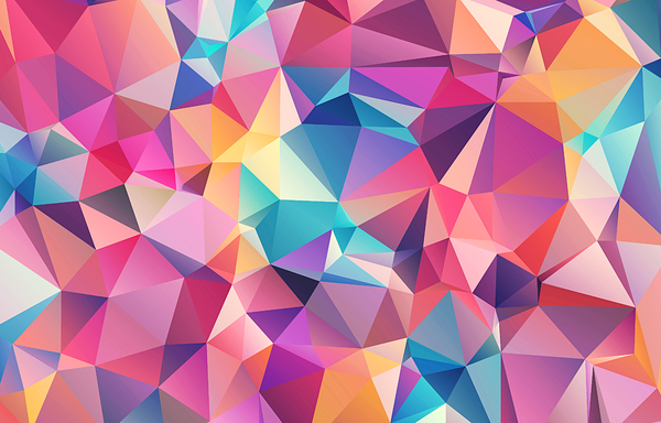 Abstract Polygonal / Low Poly: Abstract free low poly / polygonal background texture