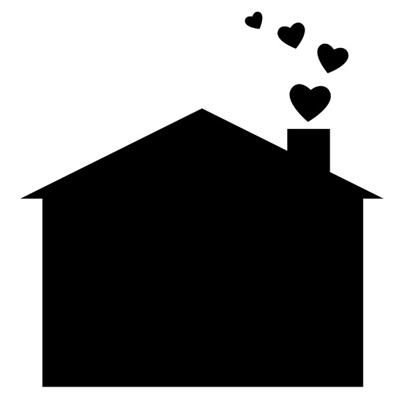 Happy Home 6: A pictogram of a house with love heart shaped smoke coming out of the chimney. You may prefer:  http://www.rgbstock.com/photo/dKTsxE/Home+is+Where+the+Heart+Is  or:  http://www.rgbstock.com/photo/2dyWqc5/House+1  or:  http://www.rgbstock.com/photo/dKTxor/