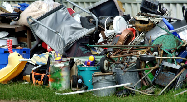 unwanted6: unwanted personal & household items dumped for roadside collection