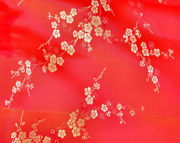 embroidered Chinese silk3