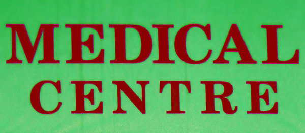 medical centre sign3