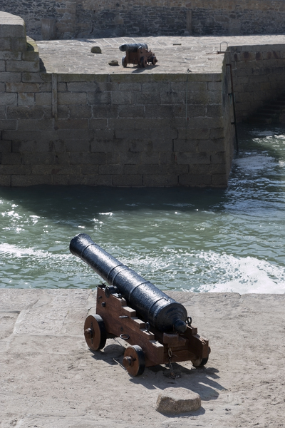 Harbour cannons