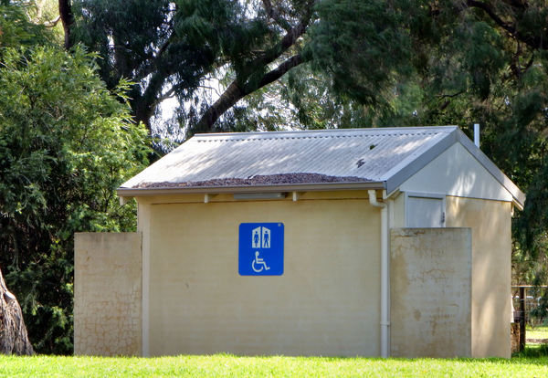 public toilets3: clearly signed and identified building