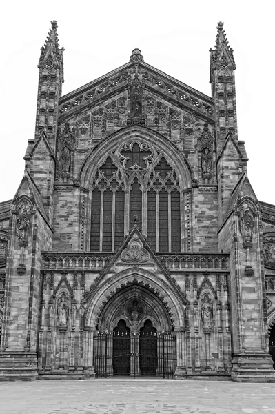 Cathedral B/W