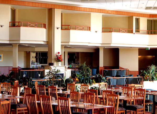 dining ambience8: open area spacious restaurant tables & chairs available for diners