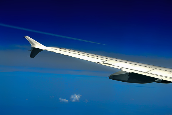 Wing Boeing in the sky: Air piloted race