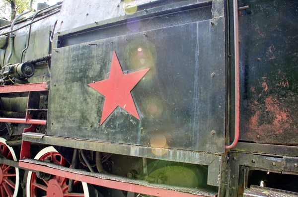 old Russian  train