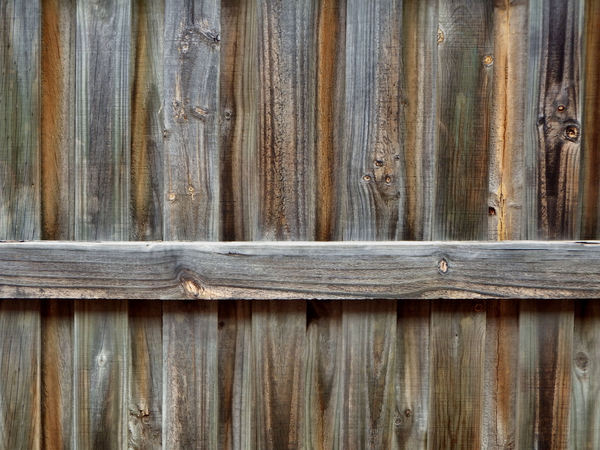 fencing textures2: wood grain textures on wooden fence