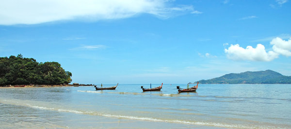 Thai beach: Patong Beach, ThailandNB: Credit to read
