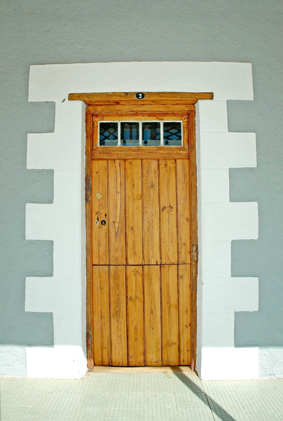 Olde Doors 2: Old style classic doors from the Karoo, South Africa.NB: Credit to read