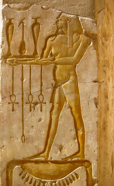 temple of Hatshepsut 22: The mortuary temple of Queen Hatshepsut, Egypt