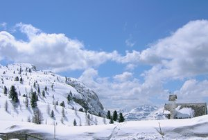 winter in the dolomite alps: winter in the dolomite alps