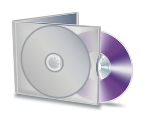 CD compilation: CD or DVD with the case
