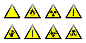 Warning signs: Warning signs in few version