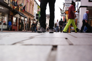 street : A street in Cork, Ireland.