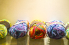 colorful wool: colorful wool