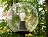 glass ball lamp: glass ball lamp