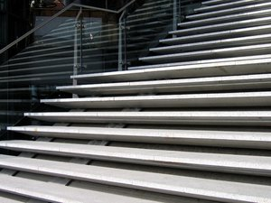 modern stairs: modern stairs