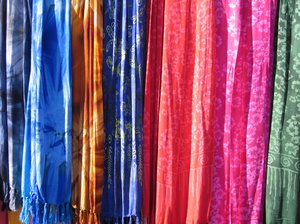 colourful batik shawls 2: colourful batik shawls 2