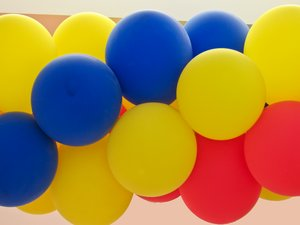colourful balloons: colourful balloons