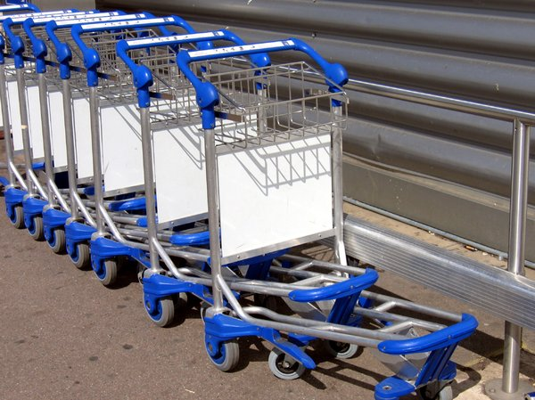 Free stock photos - Rgbstock - Free stock images | baggage carts ...