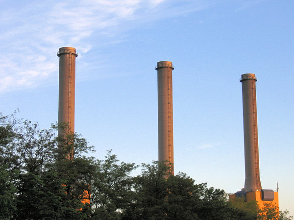 power plant chimneys: power plant chimneys